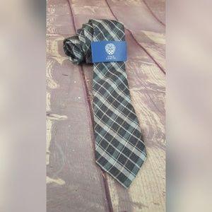 Vince Camuto Silk Neck tie Museo Plaid
